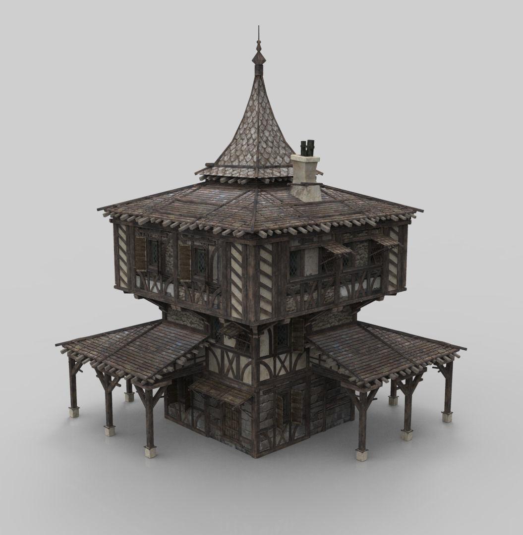 Medieval house fantasy 15