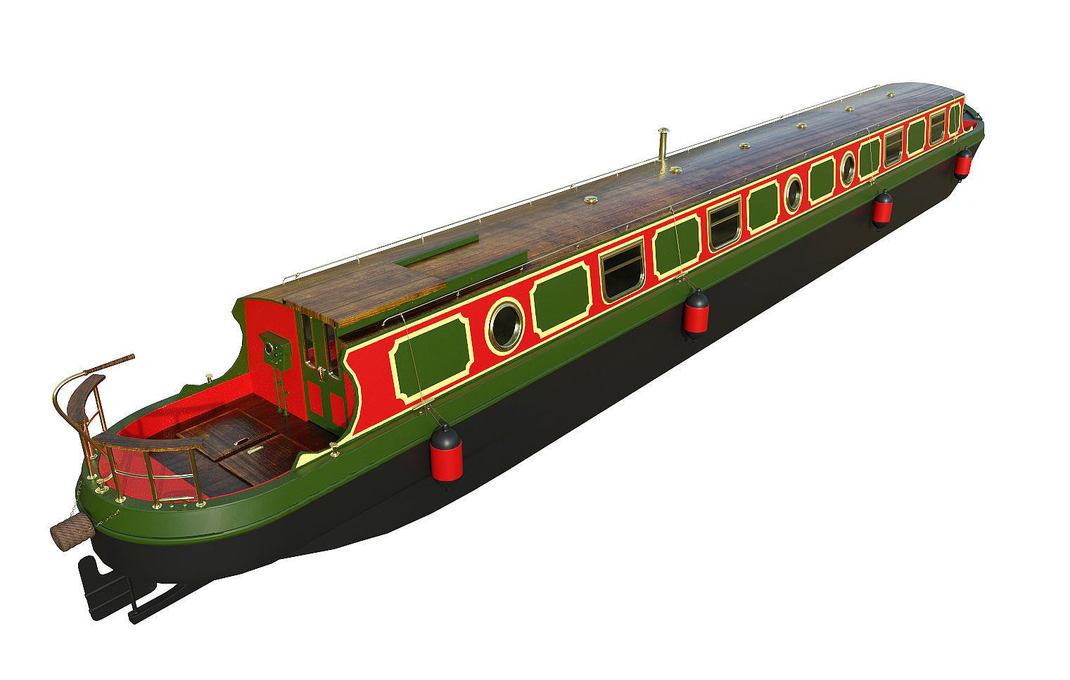 English Canal Boat 03