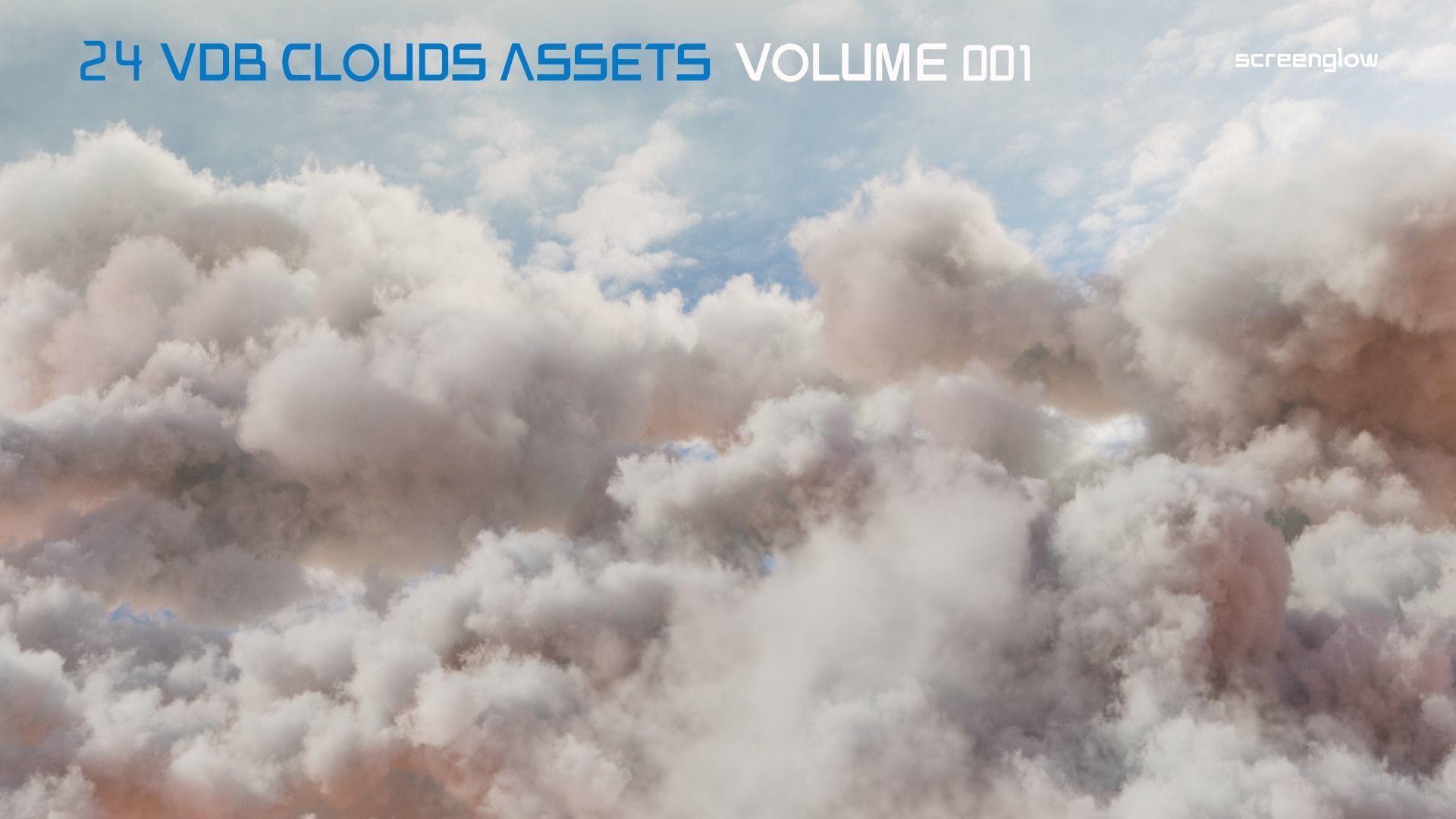 VDB Clouds Volume 1