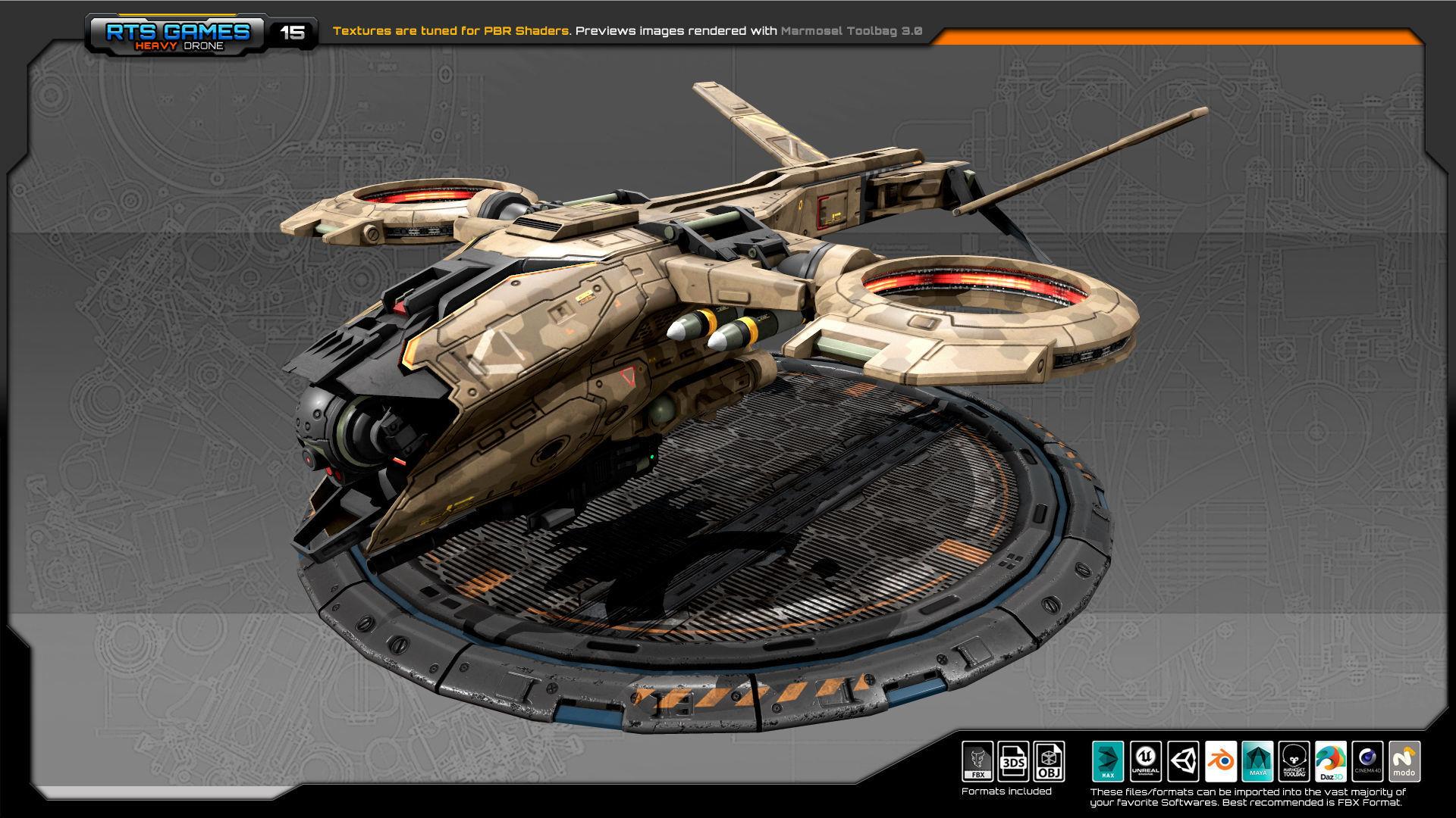 RTS Heavy Drone - 15