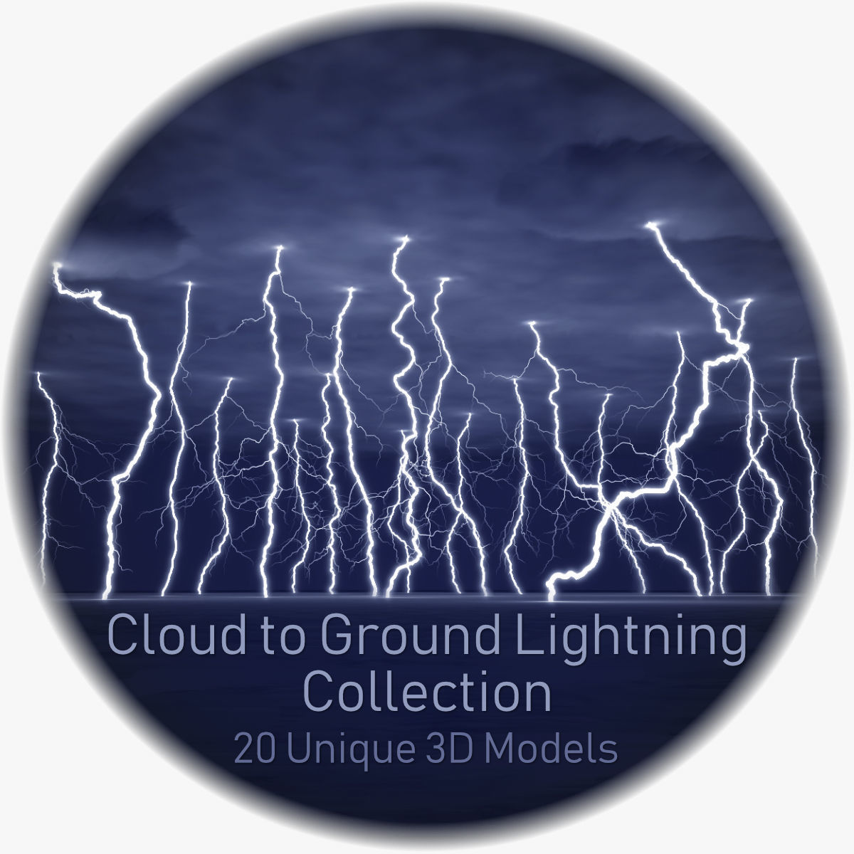 Realistic 3D Lightning Collection CG-01 - 20