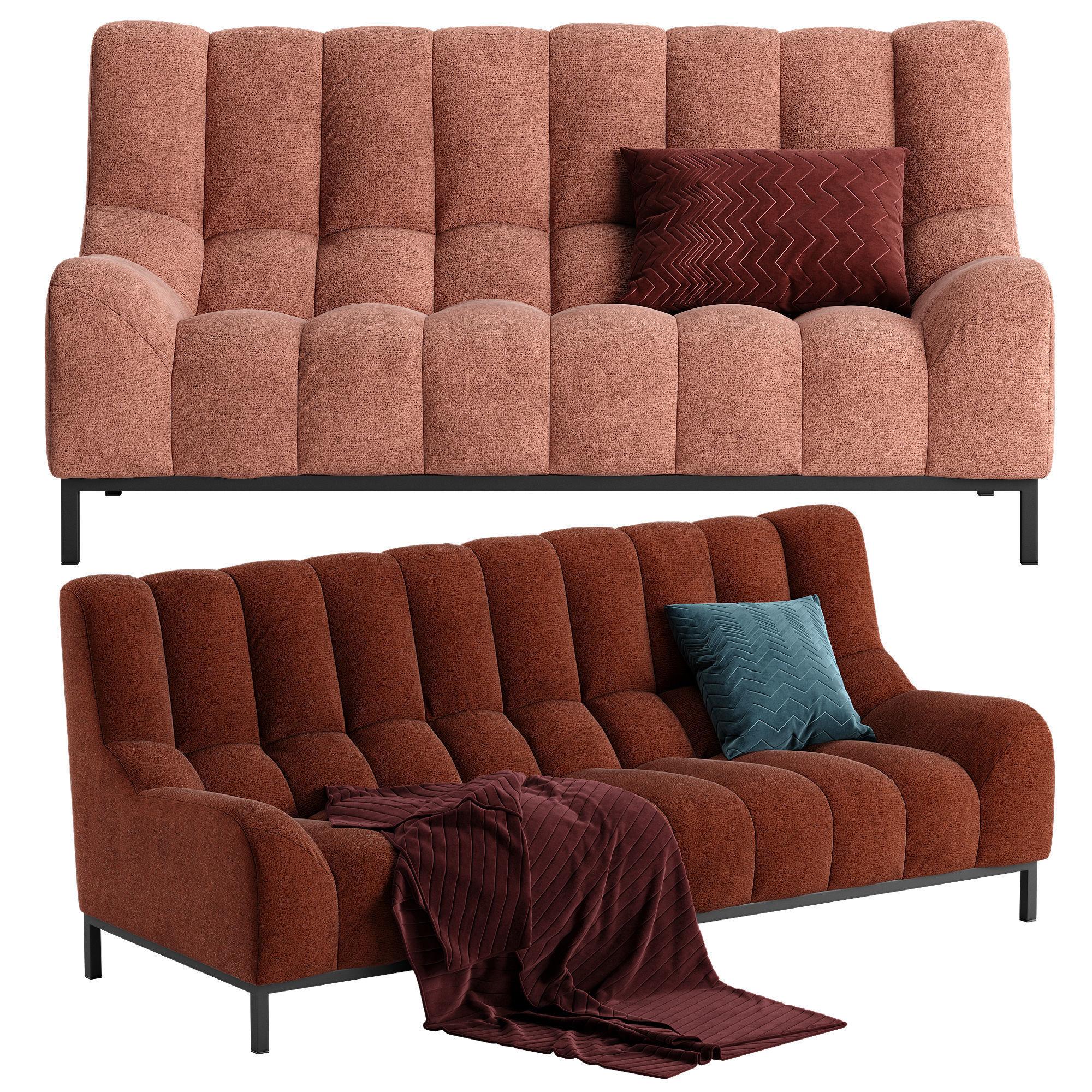 ligne roset phileas sofa 3d model max obj fbx