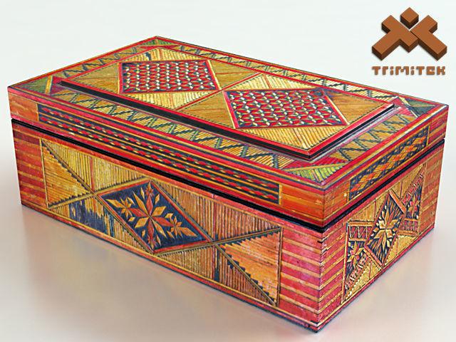 Old Decorative Jewelry Box
