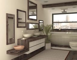 Lecce Bath 3D model