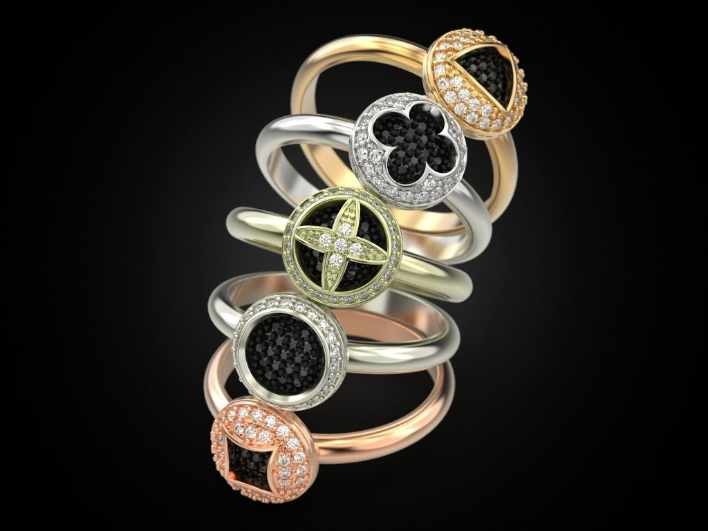Adorable Rings 3