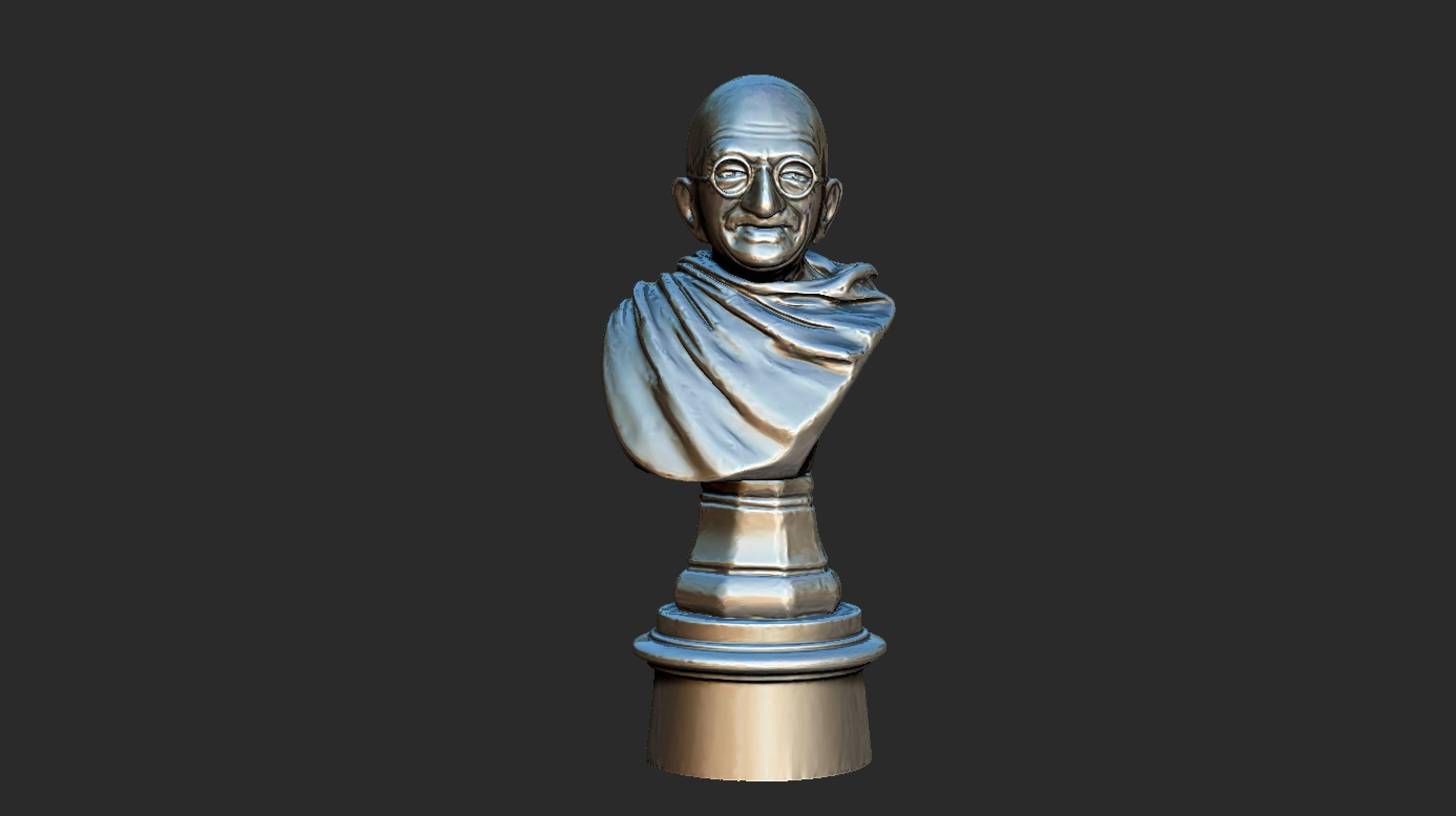 Ivory Gandhi v1 3DP