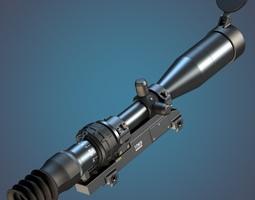3D 3-10x 1P69 sniper rifle scope