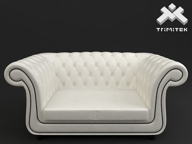 2 seat Chesterfield style sofa