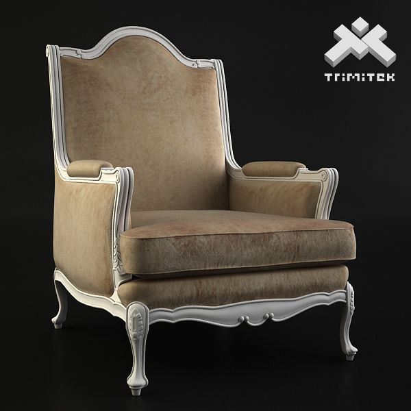 Classic Armchair - Moses - Beige