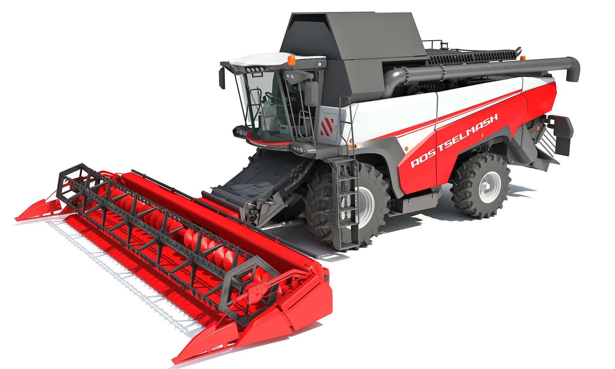 3D Combine Harvester