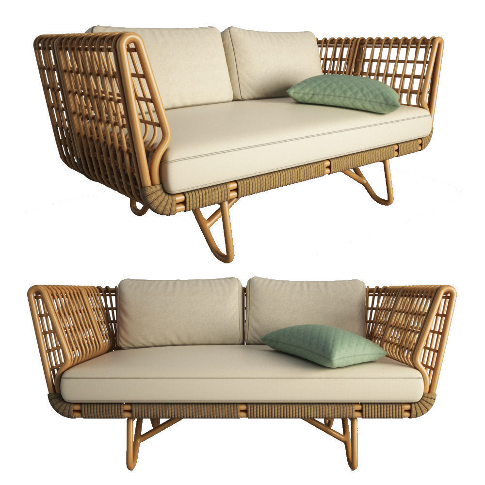 Nest Sofa Cane Line