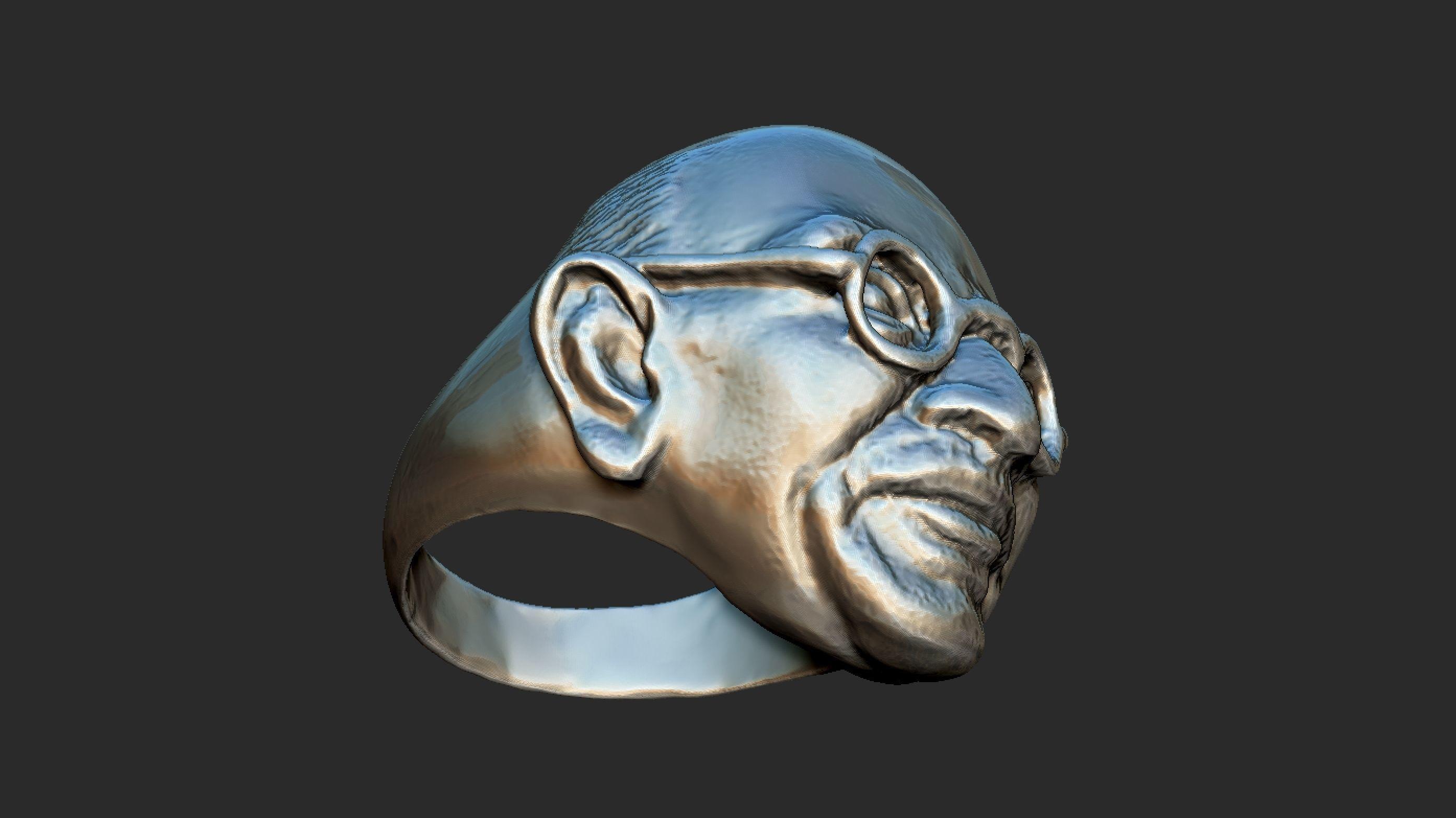 Gandhi Ring 3DP