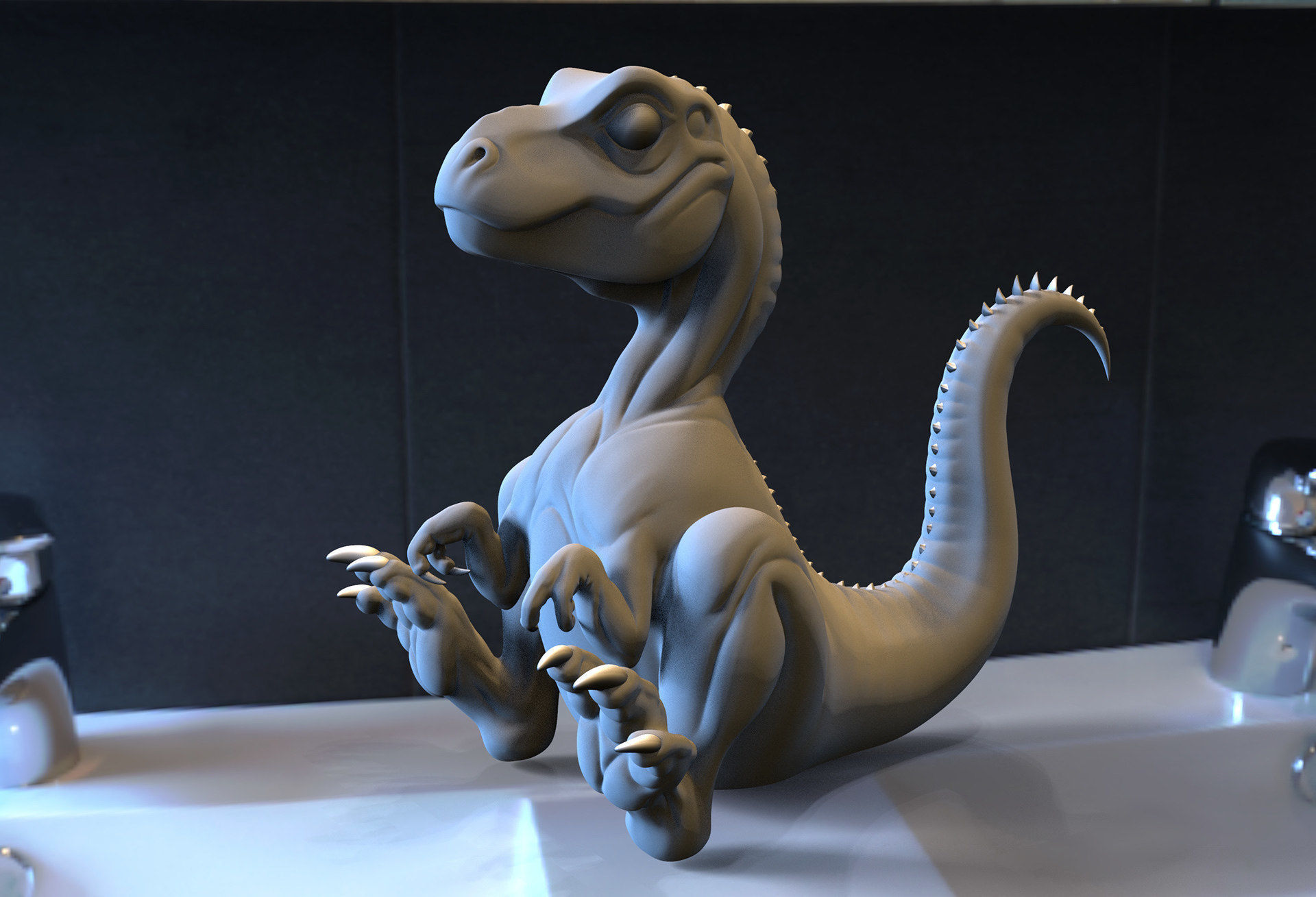 Baby Trex for 3D Printing