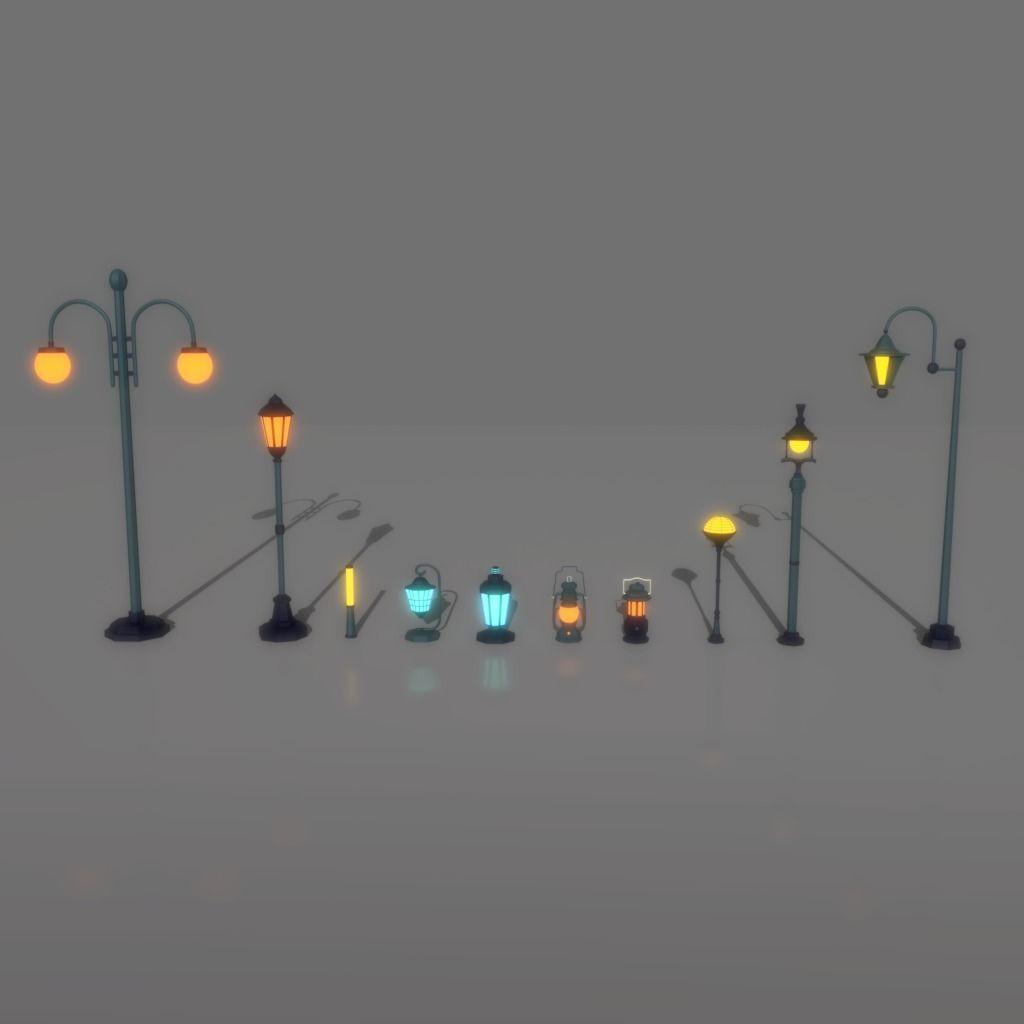 cartoon Street Light Pack