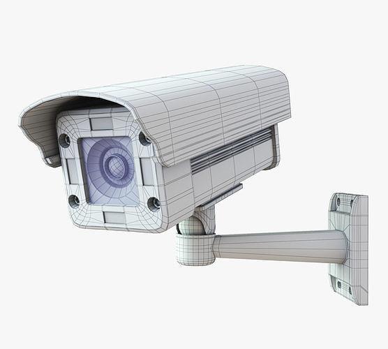 cctv-security-camera-pack-3d-model-max--
