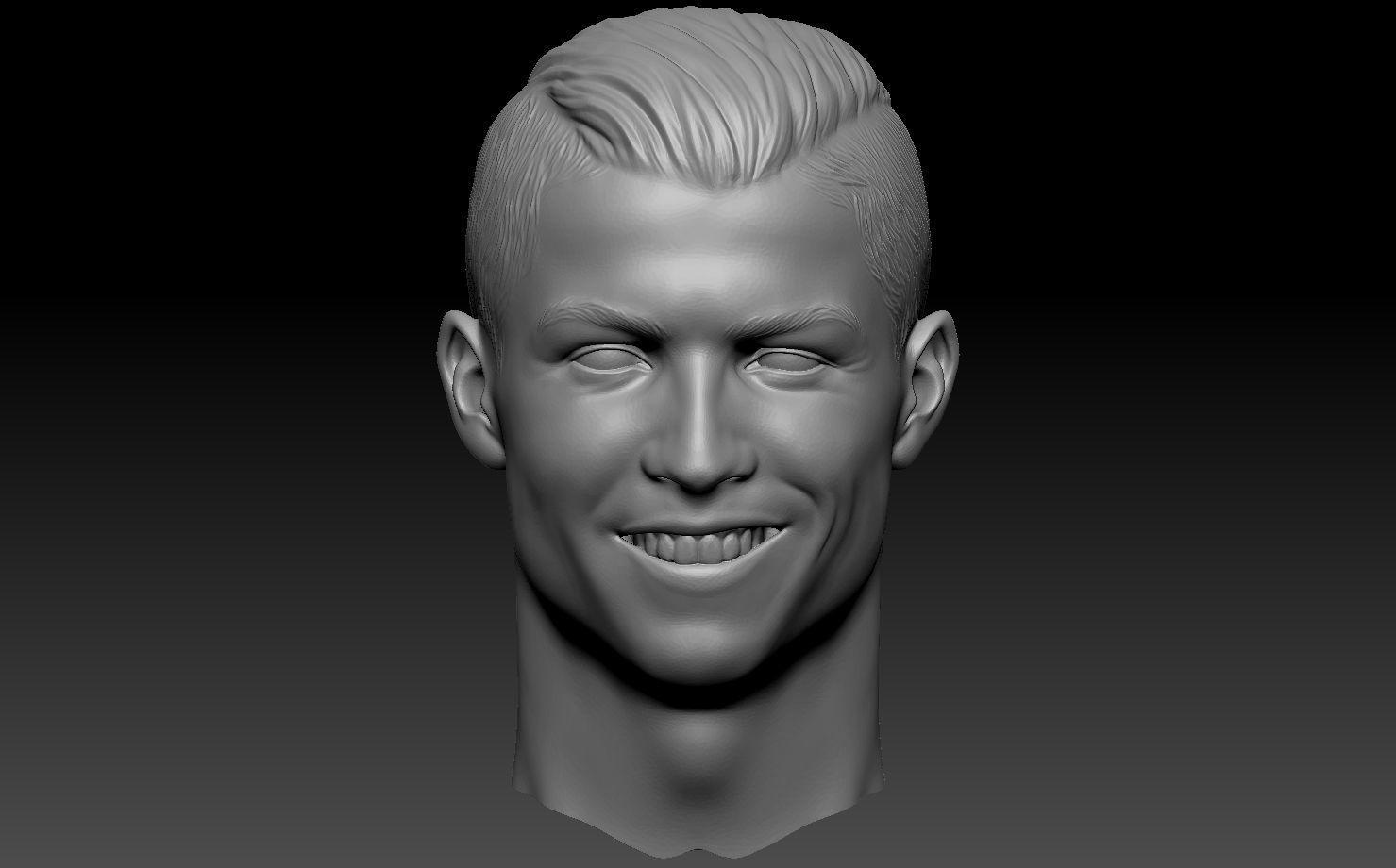 Cristiano Ronaldo CR7 3D Print