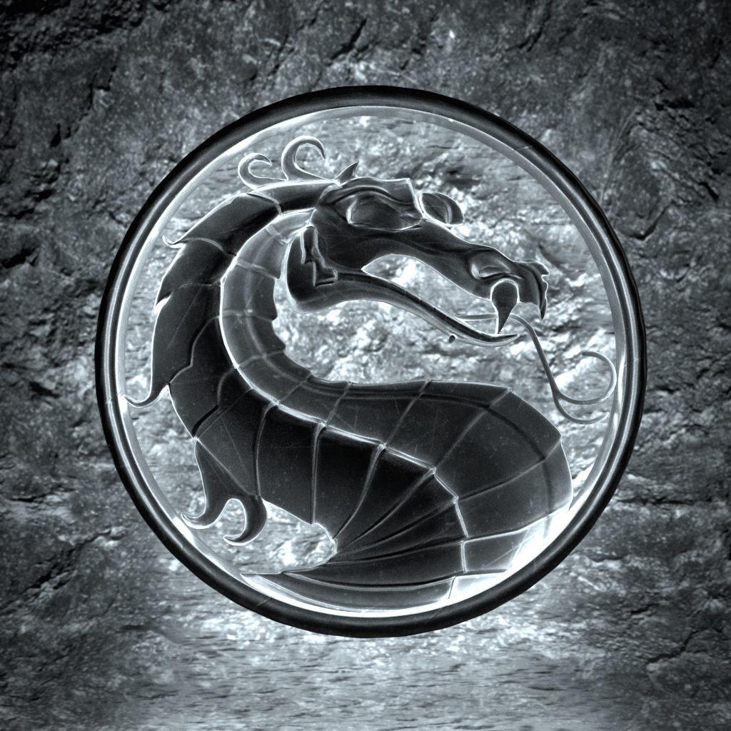 3d Mortal Kombat Logo Cgtrader