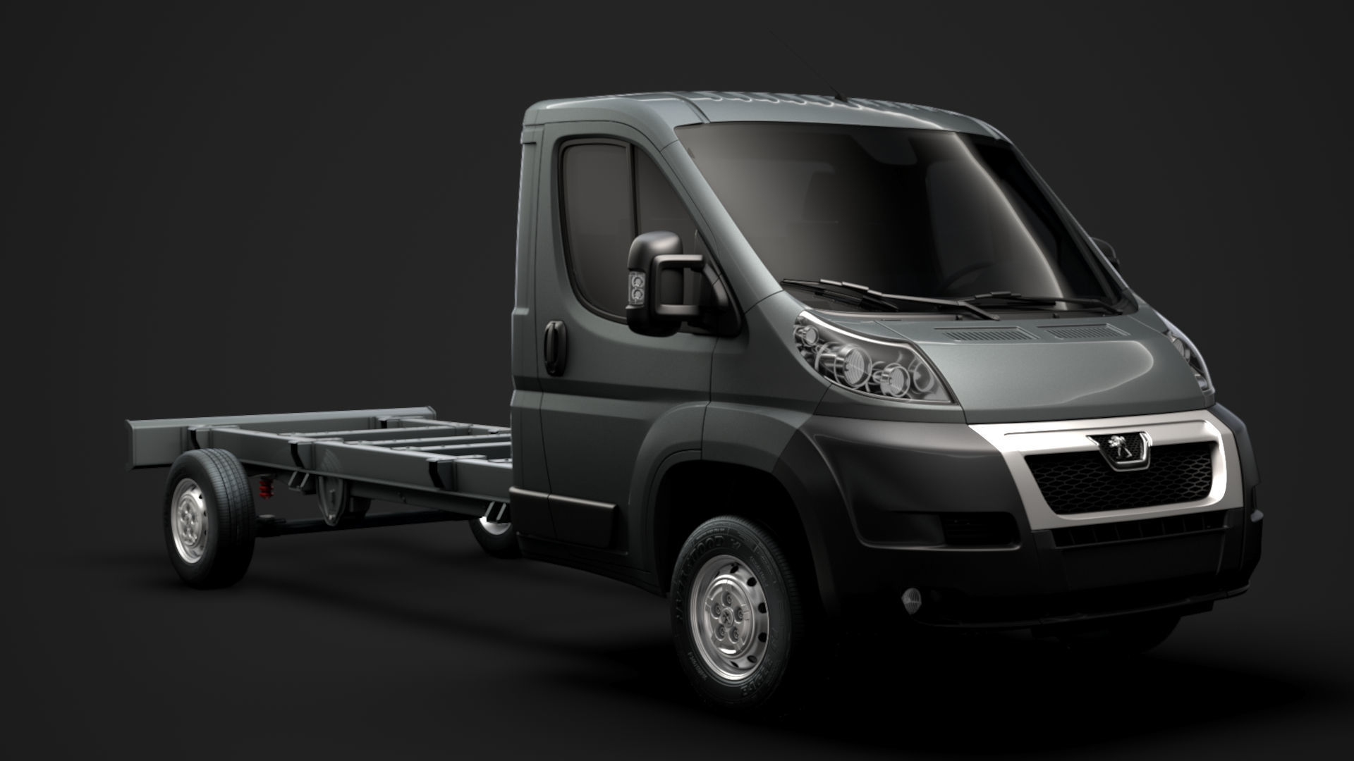 Peugeot Boxer Chassis Truck Single Cab 4300WB 2014