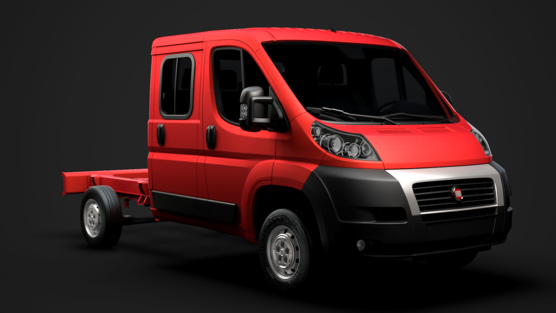 Fiat Ducato Chassis Truck Crew Cab 3450 WB 2014