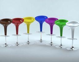 3D model Bombo Bar Stool