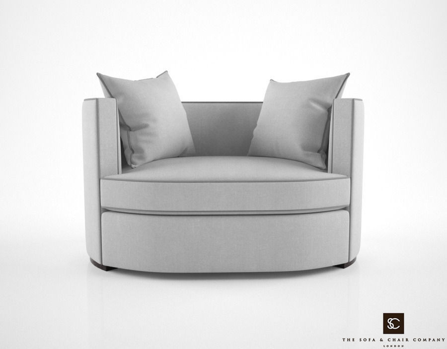 The Sofa And Chair Company Love Seat Armchair 3d Model Max