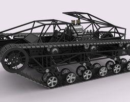 Ripsaw EV1 3D Model