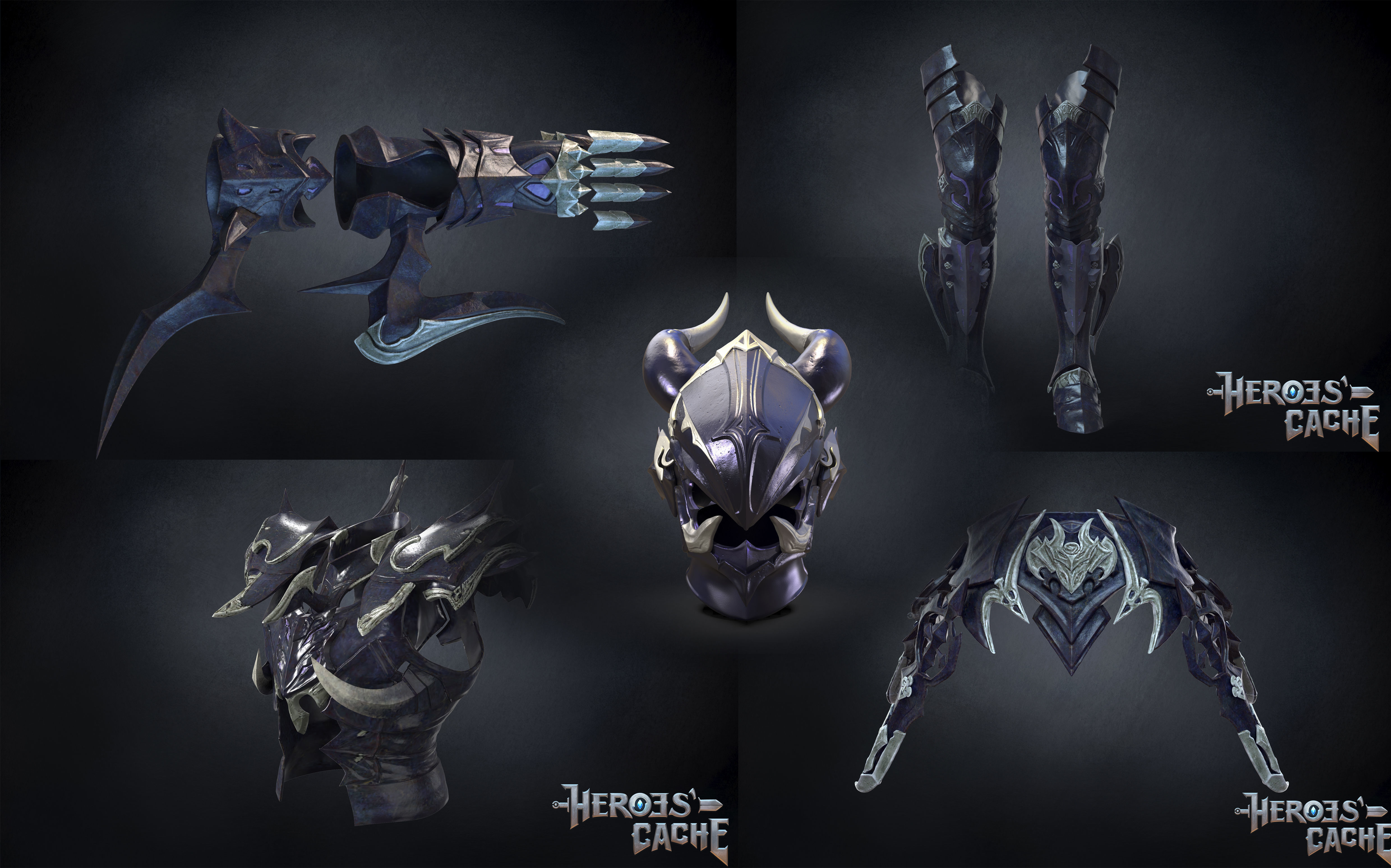 Final Fantasy XIV -Drachen Armor Full set