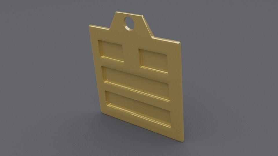 rgd dui trigram pendant mk2