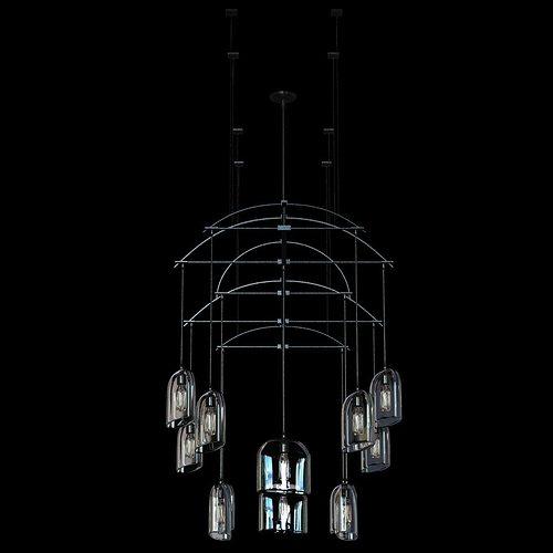 Holly Hunt Bow chandelier 3D Model MAX OBJ 3DS FBX MTL – Holly Hunt Chandelier