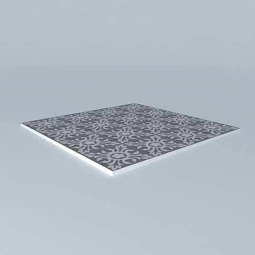 beautiful tiles 3d model max obj mtl 3ds fbx stl skp 1