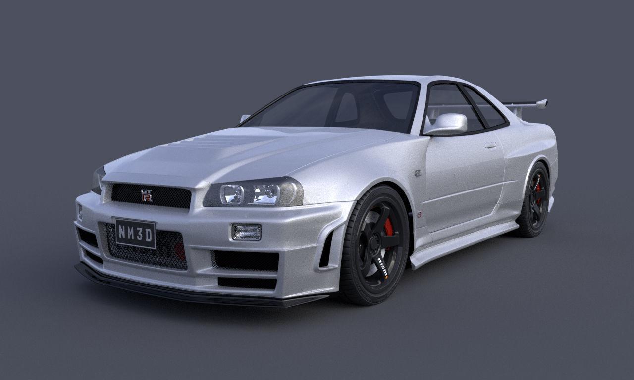 Nissan Skyline GTR R34 Nismo Z-Tune Limited Edition