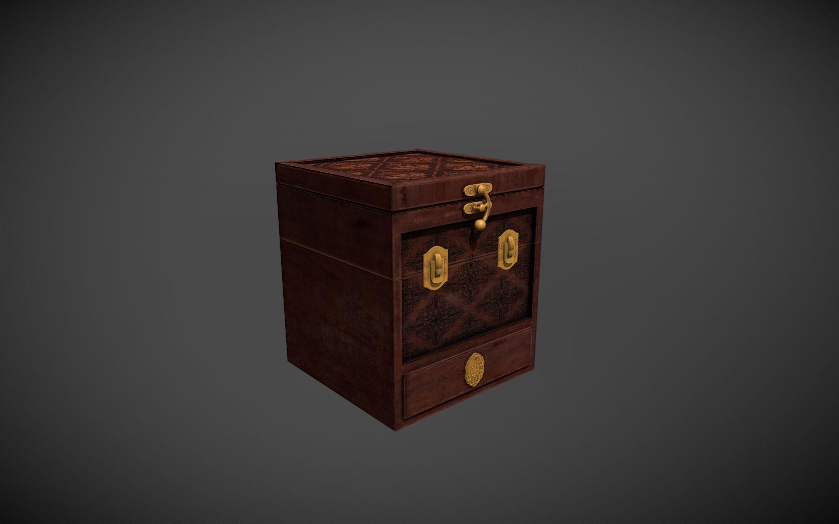 Antique Puzzle Box