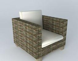 3D model Indoor Armchair