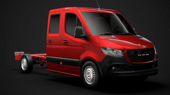 RAM Sprinter Chassis Crew Cab L2 FWD 2020