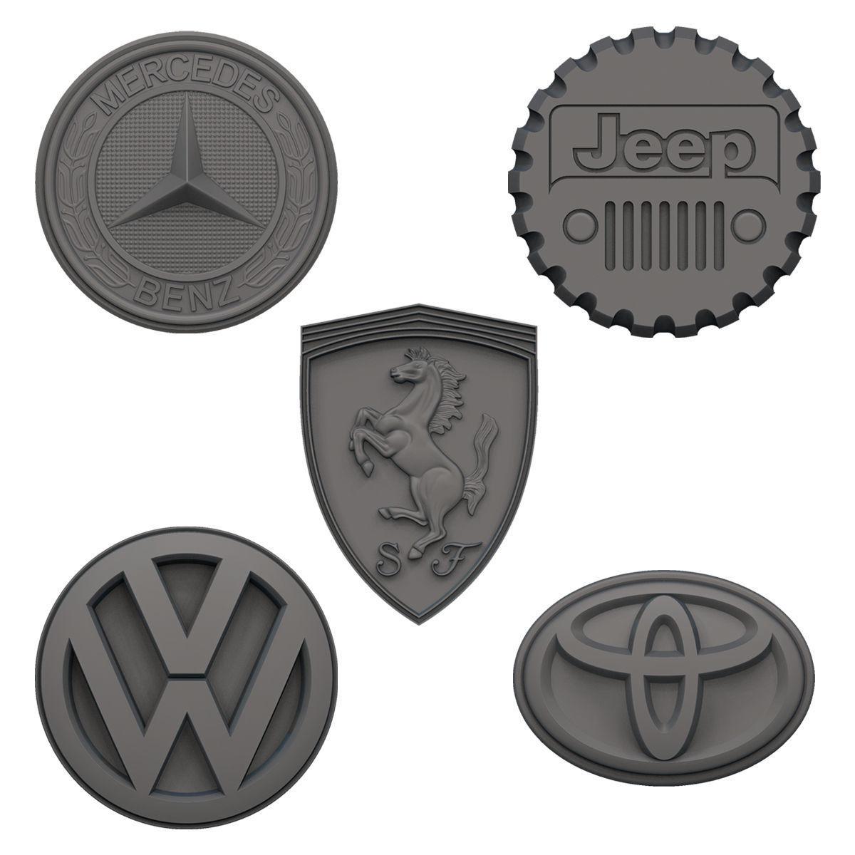 Car logo Fridge Magnets V1