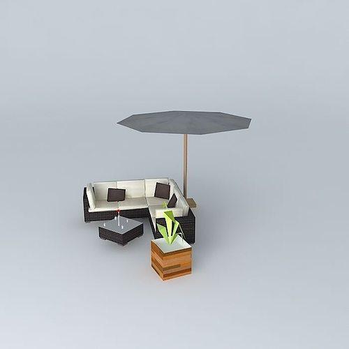 the bali garden furniture 3d model max obj 3ds fbx stl skp 3. The Bali garden furniture 3D Model MAX OBJ 3DS FBX STL SKP