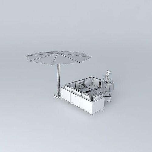 the bali garden furniture 3d model max obj 3ds fbx stl skp 4. The Bali garden furniture 3D Model MAX OBJ 3DS FBX STL SKP