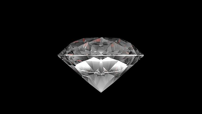 our diamond 3d model obj 1