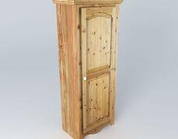 Wooden cabinet 3D furniture