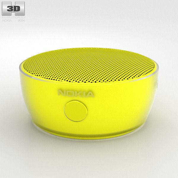 Nokia Portable Wireless Speaker MD-12 Yellow