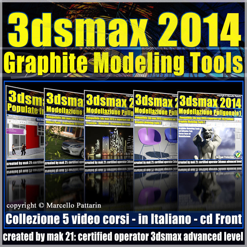 3ds max 2014 Graphite Modeling Tools