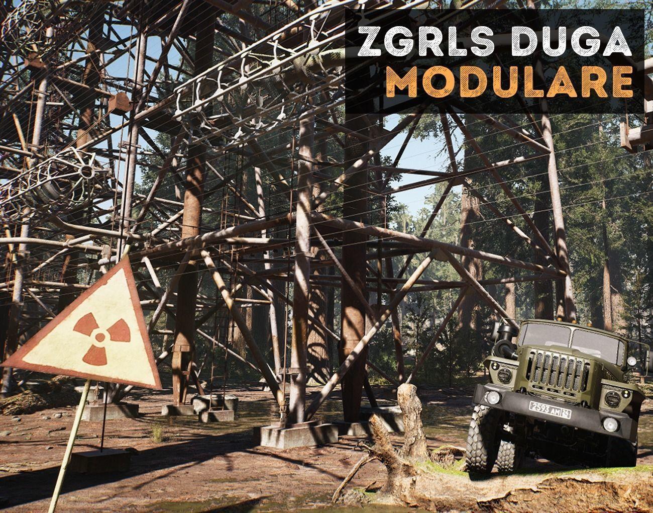 ZGRLS DUGA PRIPYAT CHERNOBYL - 2 GAME READY