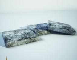 3D model Stone Plate