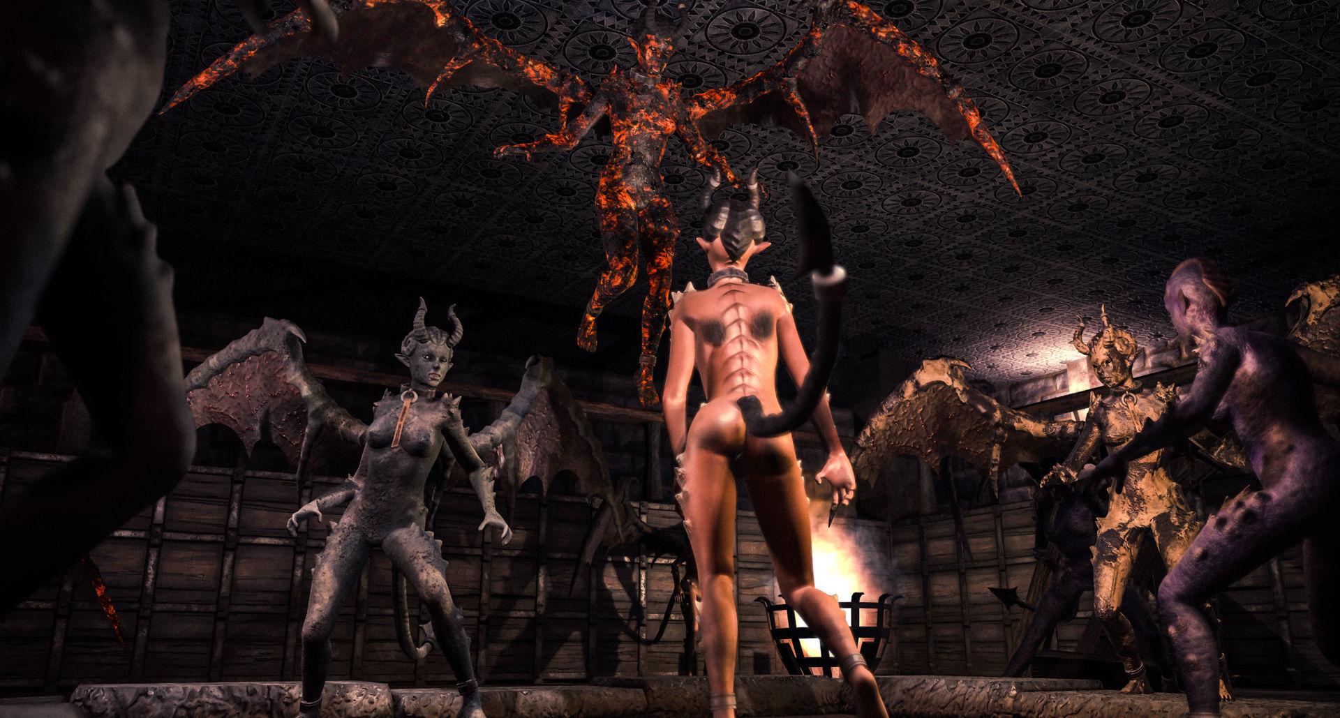 Succubus Demoness Pack PBR
