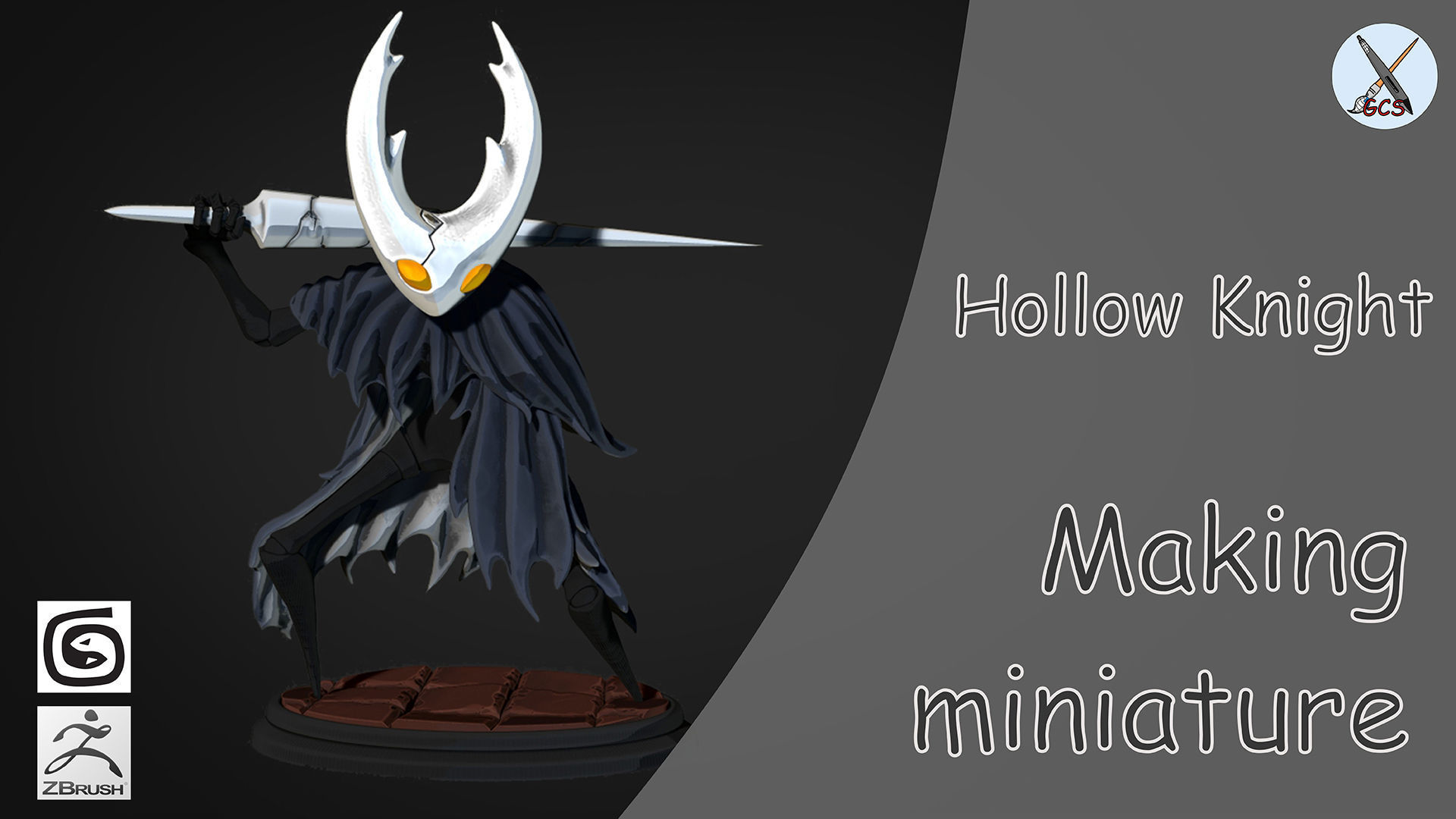 Hollow Knight 3d Printable Model Dall Cgtrader