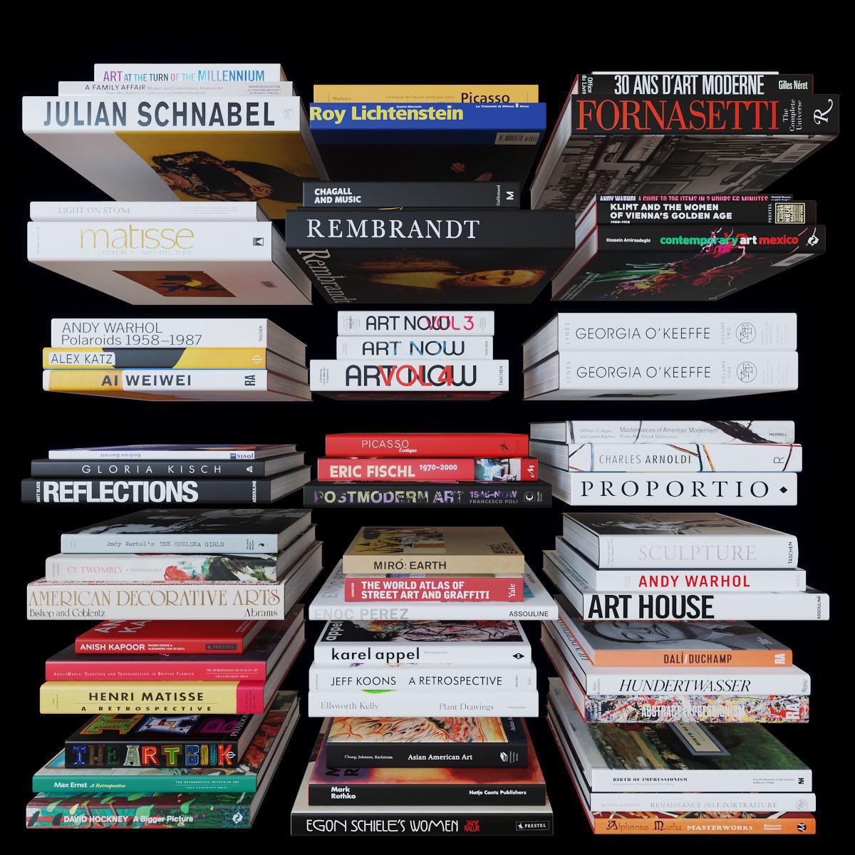 Coffee Table Books - Art
