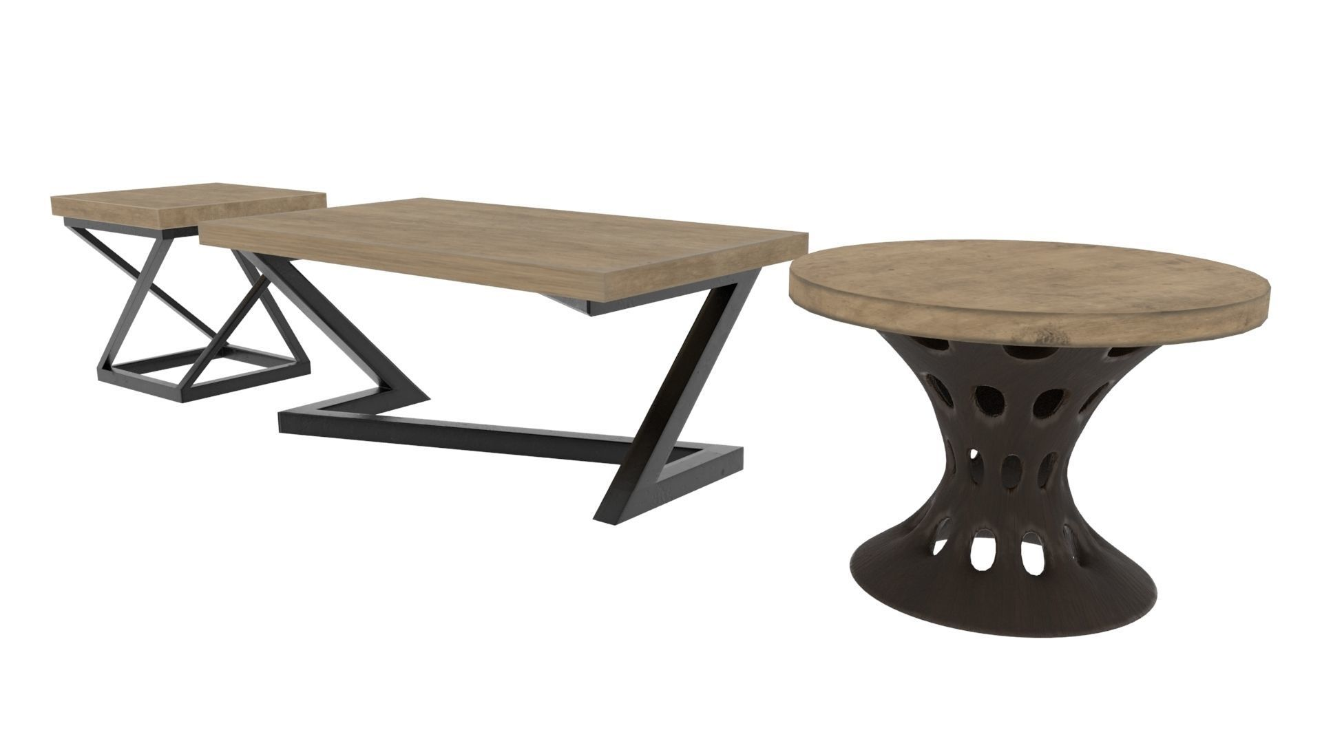three type of table