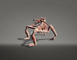 3D model Terrifying Creature Rigged