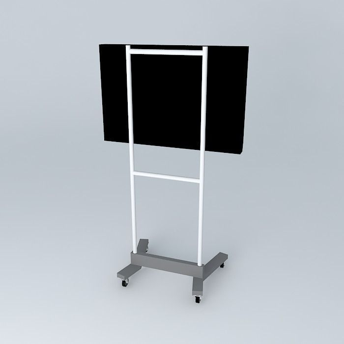 Stand Tv 3d Model Max Obj 3ds Fbx Stl Skp 2
