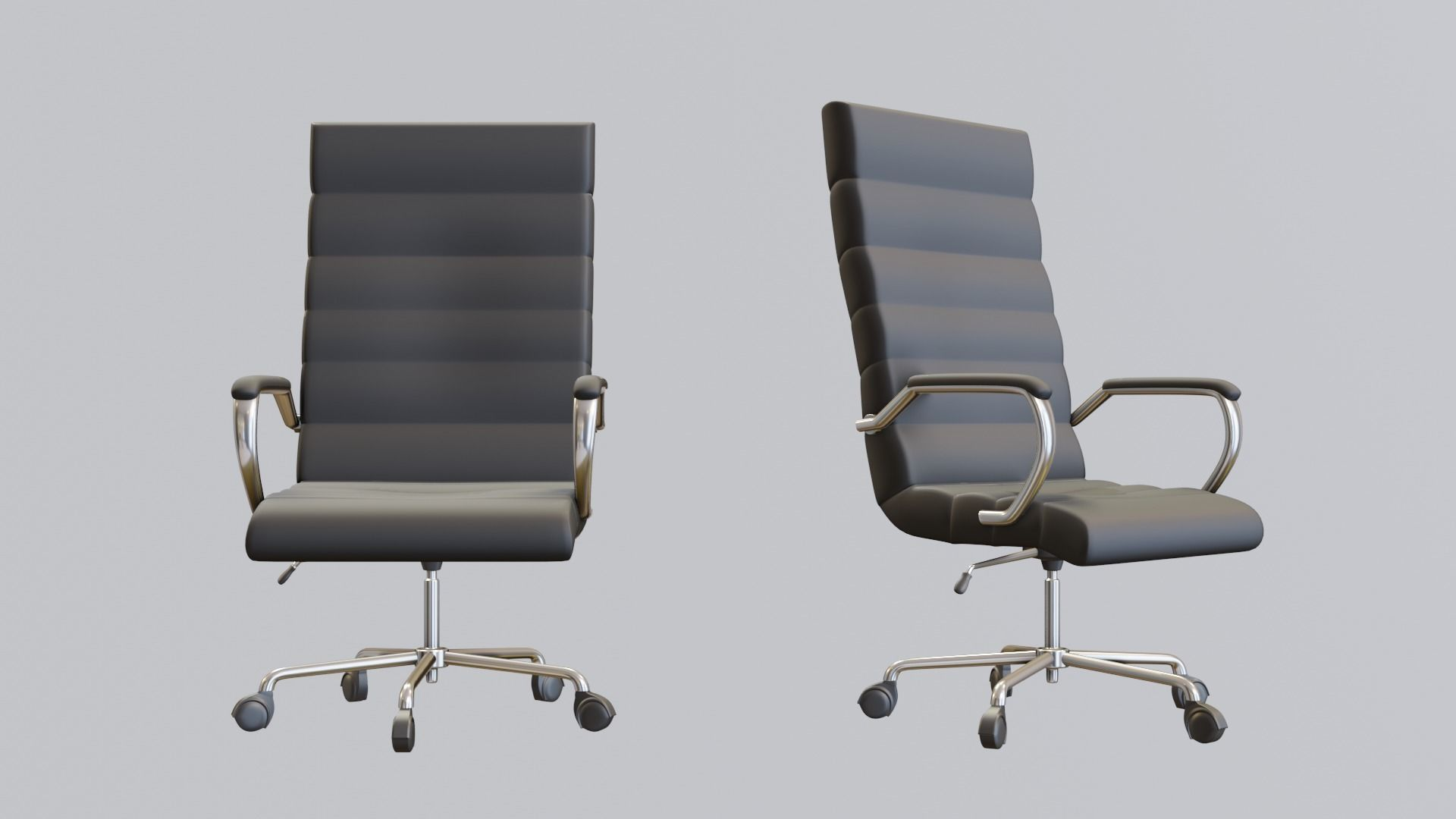 modern black office chair also for gaming